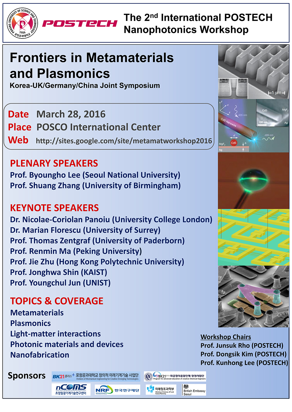 The 2nd International Nanophotonics Worksh...